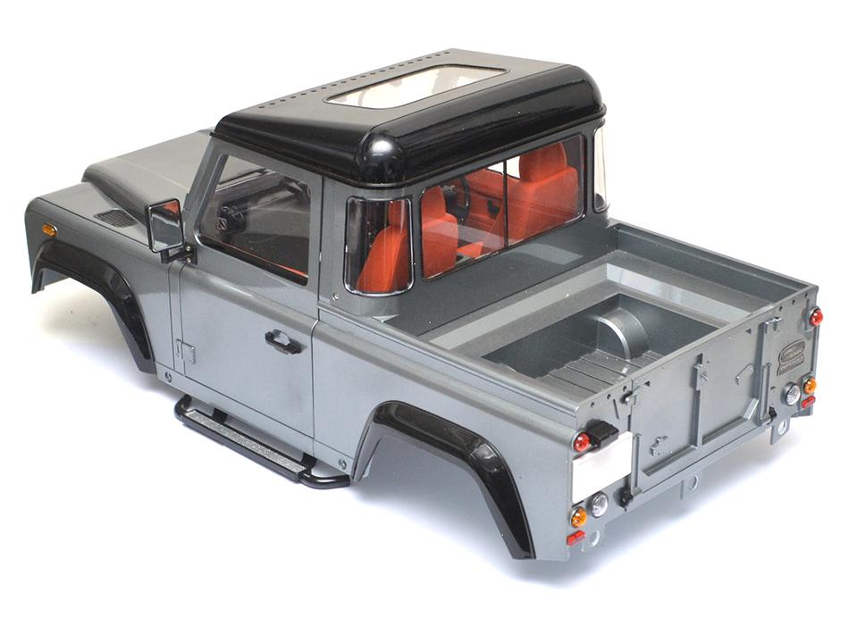 Rc Land Rover Defender Karosserie : defender d90 pickup truck hard body kit scalercbuzz ~ Aude.kayakingforconservation.com Haus und Dekorationen