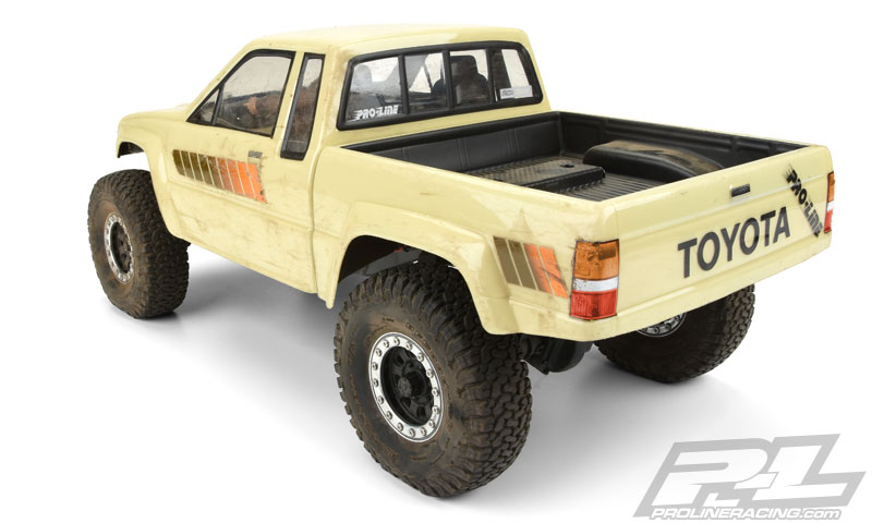 Proline 1985 Toyota HiLux SR5 Clear Body (Cab + Bed)