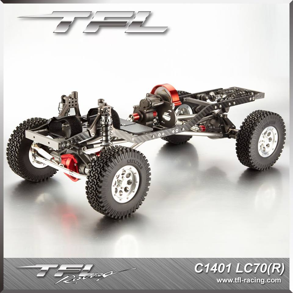 Tfl Racing T 10 Pro Scale Crawler Chassis Lc70 Scalercbuzz