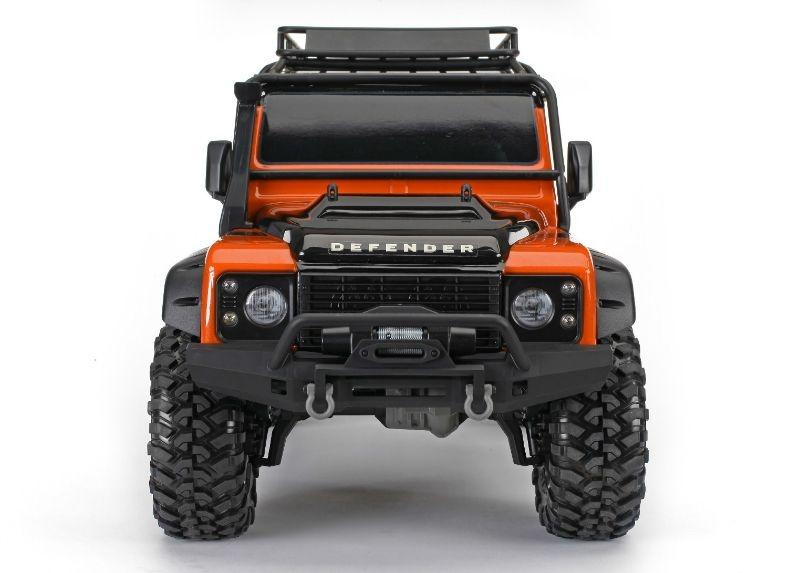 Traxxas TRX4 Orange Limited Adv  Edition Defender D110