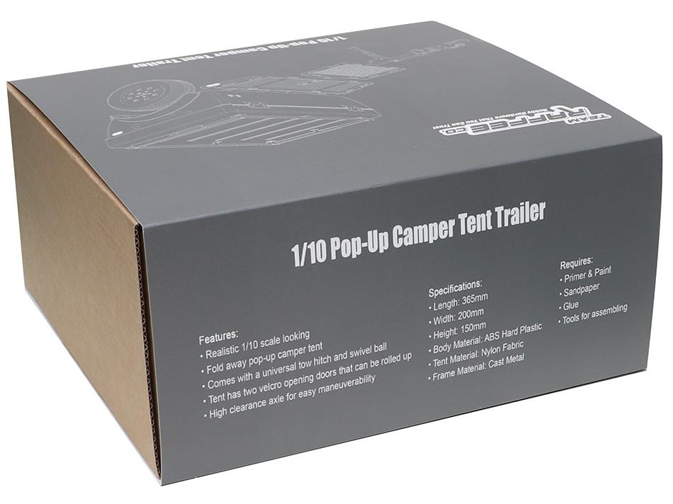 Team Raffee Co  1/10 Pop-Up Camper Tent Trailer Kit